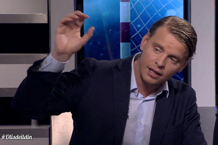 Jóhann Gunnar Einarsson.