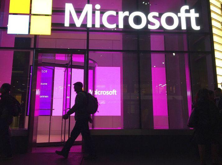 Microsoft telur að hakkari á vegum Kínastjórnar hafi staðið að umfangsmiklu innbroti í tölvupóstþjónustu fyrirtækisins.