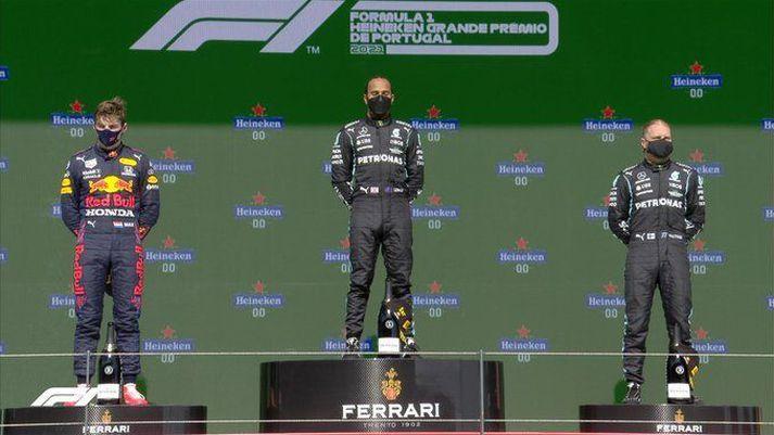 Hamilton vann enn einn Formúlu 1 kappaksturinn í dag.