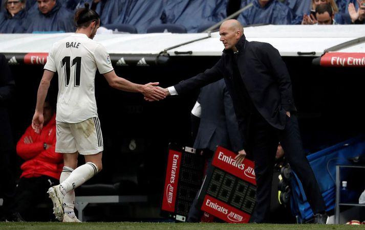 Zidane að ýta Bale burt frá Real Madrid
