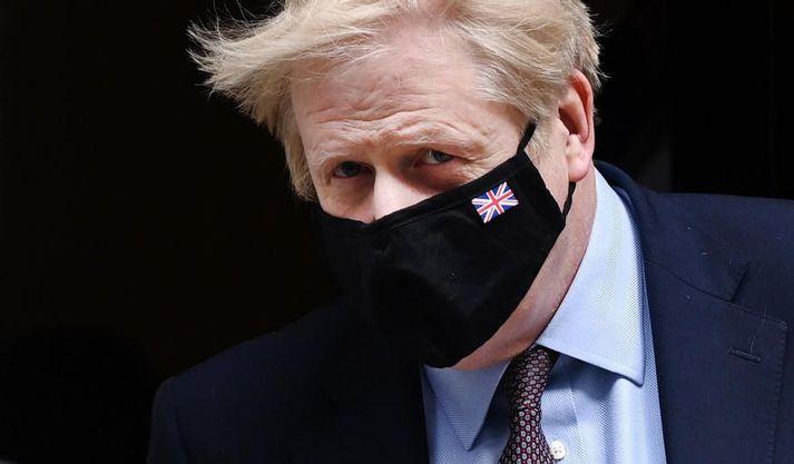 Boris Johnson segir framburð Dominics Cummings ekki eiga sér stoð í raunveruleikanum.