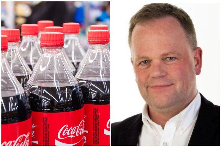 Áður er fyrsti ársfjórðungur 2021 er úti verða allar plastflöskur sem Coca-Cola á Ísland framleiðir verða úr endurunnu plasti. Forstjórinn segir hátt endurvinnsluhlutfall vera lykilatriði.
