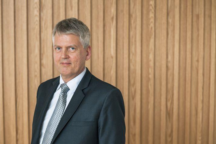 Hannes G. Sigurðsson, aðstoðarframkvæmdastjóri Samtaka atvinnulífsins.