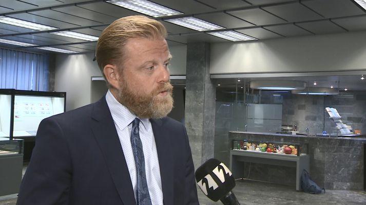 Ásgeir Jónsson tók við embætti seðlabankastjóra í dag.
