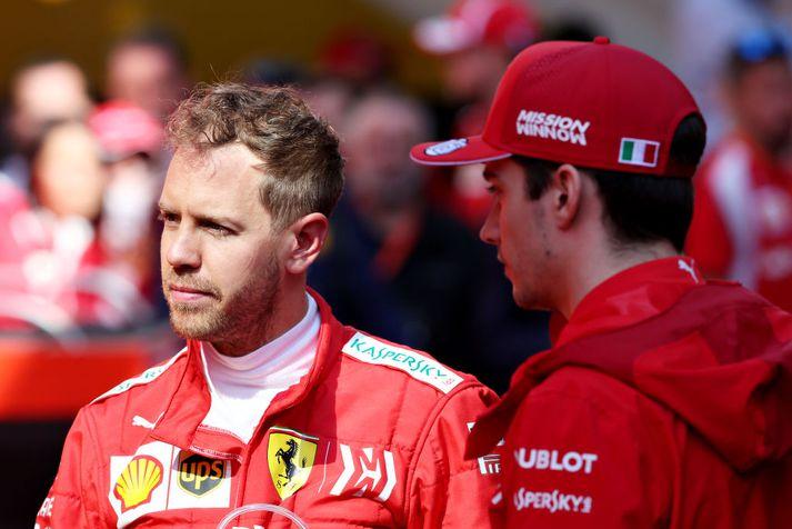 Nær Vettel loks að endurheimta titilinn fyrir Ferrari?