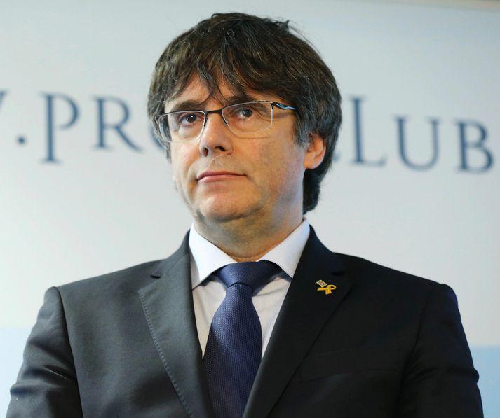 Carles Puigdemont fær að bjóða sig fram.