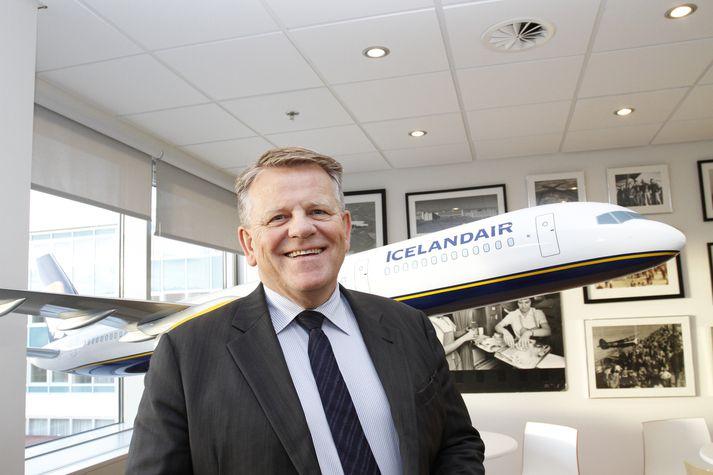 Björgólfur Jóhansson er forstjóri Icelandair.