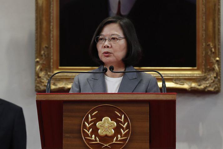 Tsai Ing-wen, forseti Taívans.