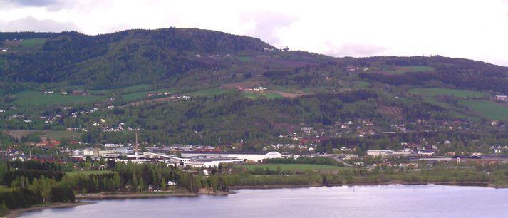 Brumunddal er að finna um 130 kílómetra norður af Osló.