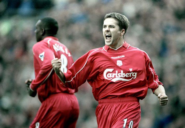 Michael Owen var frábær með Liverpool á fyrstu árum ferilsins.