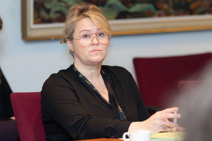 Sigríður Björk Guðjónsdóttir, lögreglustjóri.