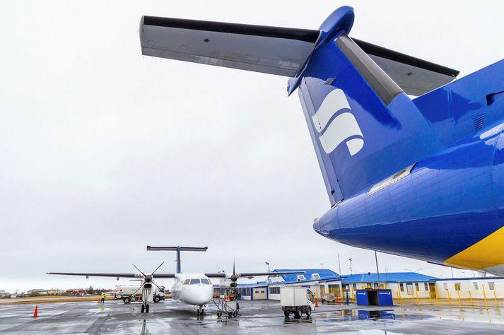 Hluthafar Icelandair gátu nýtt sér áskriftarréttindi sín.