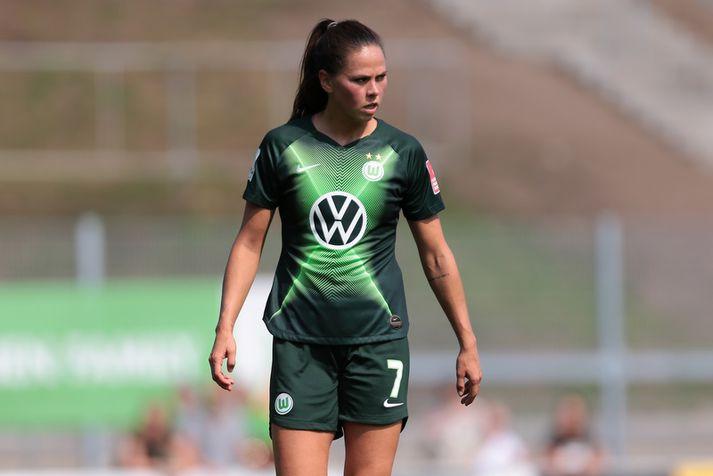 Sara Björk Gunnarsdóttir varð meistari í Þýskalandi með Wolfsburg á síðustu leiktíð.