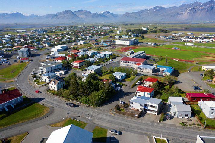 Höfn í Hornafirði. Hlýjast verður á Suðausturlandi í dag.