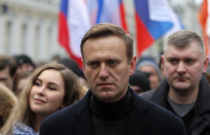 Alexei Navalny er sagður heppinn að vera á lífi.