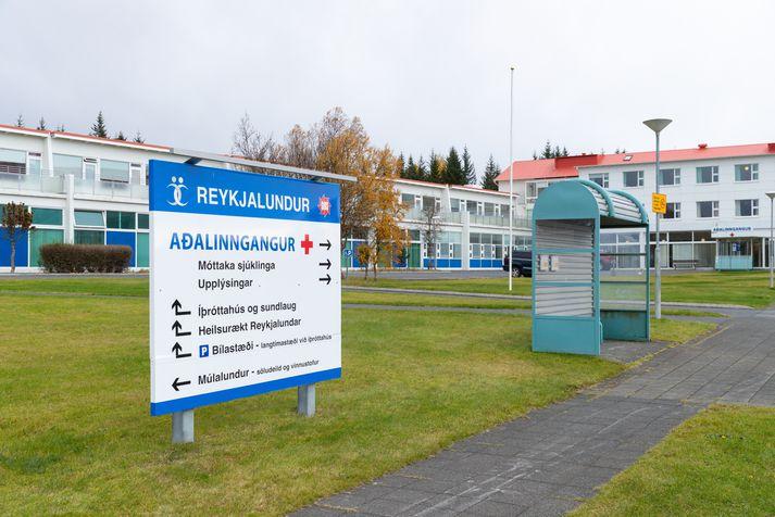 Starfsfólk á Reykjalundi tók ekki á móti sjúklingum í dag en sinnti áfram þeim sem þar dvelja og neyðartilfellum.