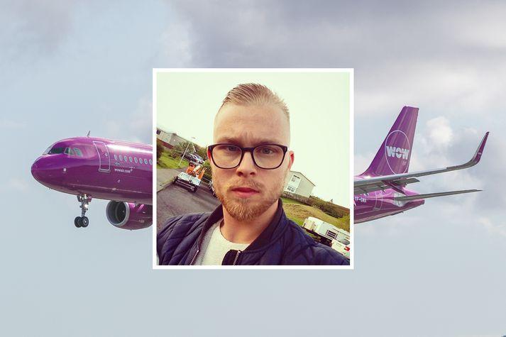 Friðrik Atli Guðmundsson er umsjónarmaður vefsins Hluthafi.com.