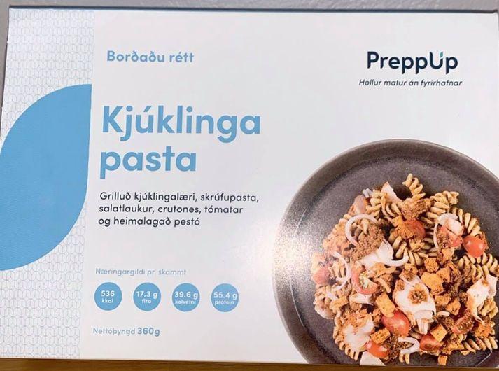 Kjúklingapastað frá Preppup.