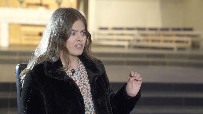 Íva Marín Adrichem tekur þátt í Söngvakeppninni í næsta mánuði.