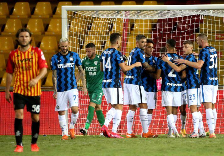 Inter Milan fer vel af stað í ítölsku úrvalsdeildinni.