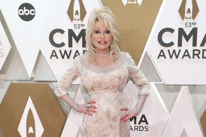 Dolly Parton er nýorðin 75 ára.