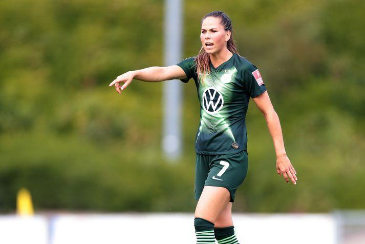 Sara Björk Gunnarsdóttir mun yfirgefa Wolfsburg í sumar.