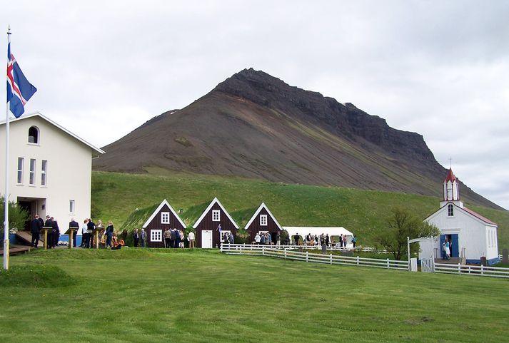 Hrafnseyri við Arnarfjörð þar sem Jón Sigurðsson fæddist 17. júní 1811.Fréttablaðið/Jón Sigurður