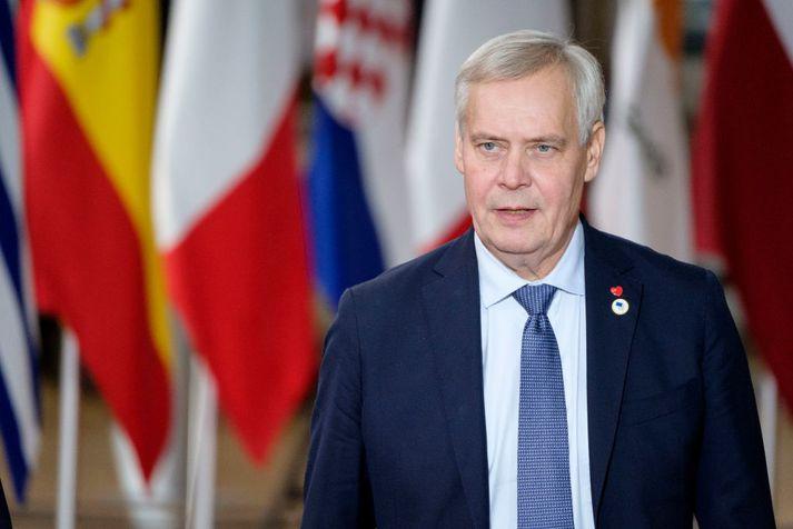 Antti Rinne tók við sem forsætisráðherra Finnlands í sumar.