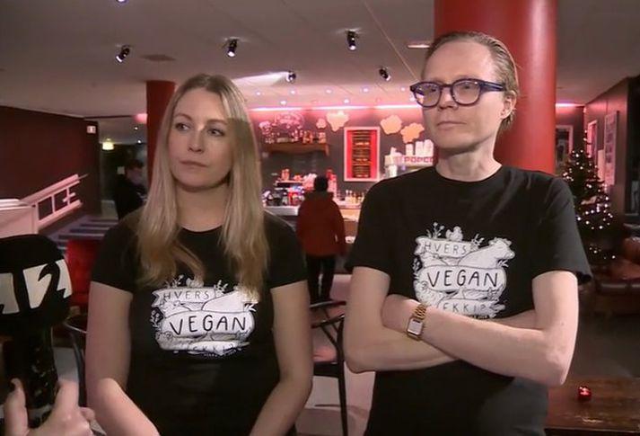 Grænkerar hefja í dag veganúar, mánaðarátak til að kynna mat sem inniheldur ekki dýraafurðir.