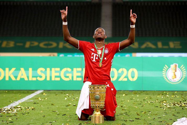 David Alaba hefur verið lengi hiá Bayern München og spilaði með liðinu þegar Pep Guardiola var þar. Nú vill Pep fá hann til Manchester City.