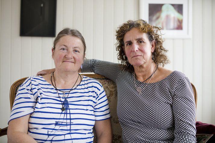 Kerstin Kristensen og Denise Cresso hafa unnið að rannsóknum á ofbeldi gegn fötluðum konum í Svíþjóð um árabil.