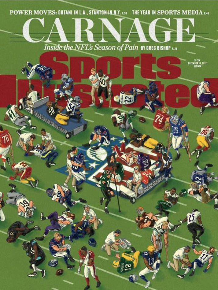 Forsíða Sports Illustrated.