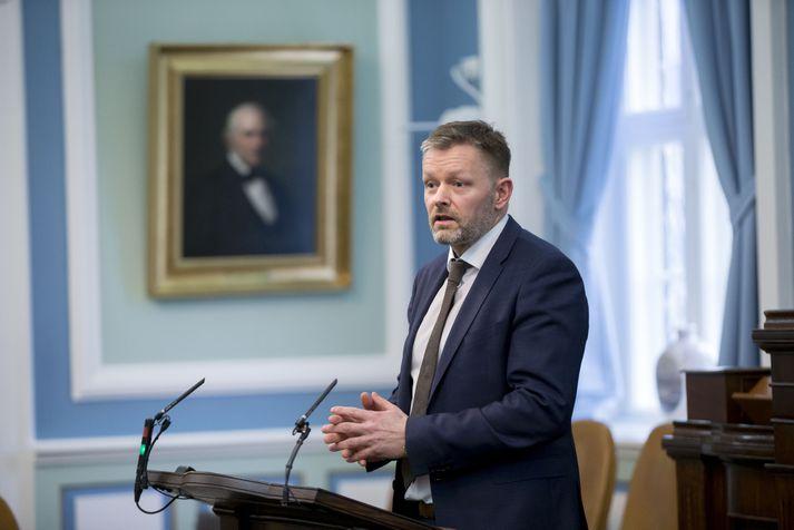 Þorsteinn Víglundsson er þingmaður Viðreisnar.