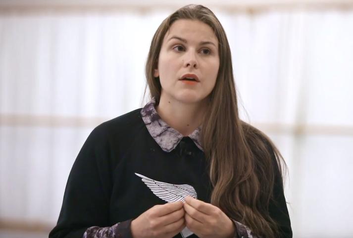 Katrín Gunnarsdóttir er danshöfundur verksins.