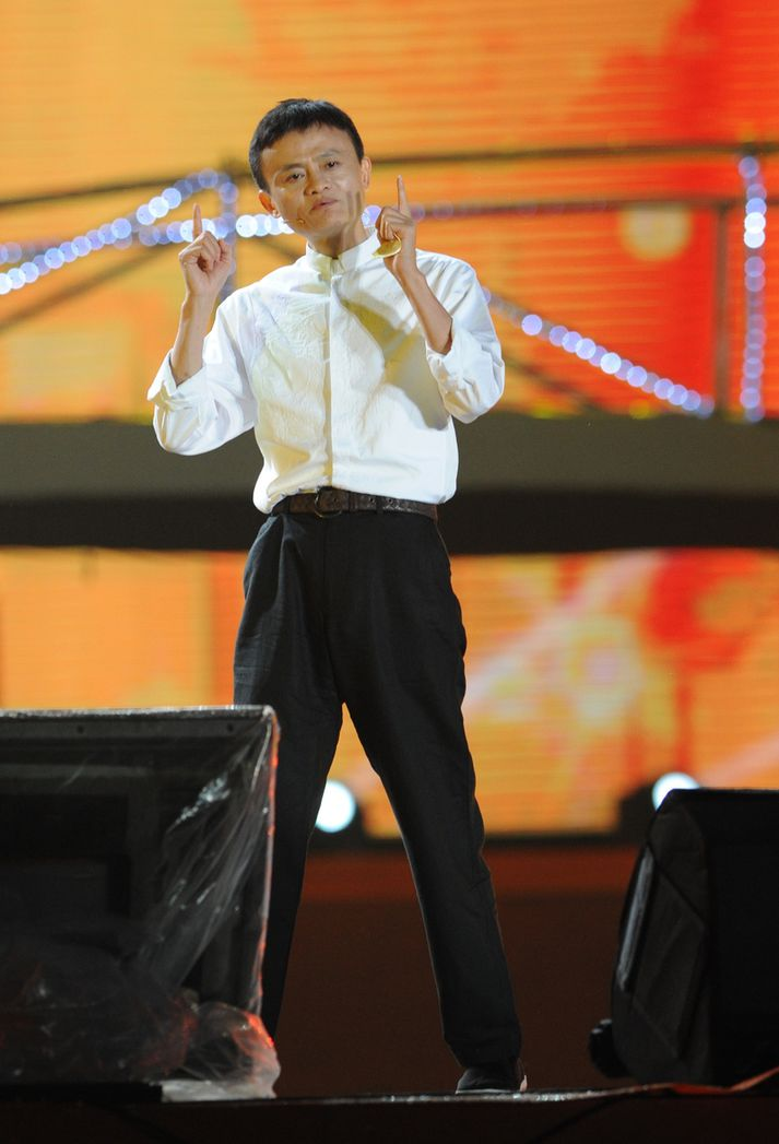 Jack Ma, stofnandi Alibaba Group.