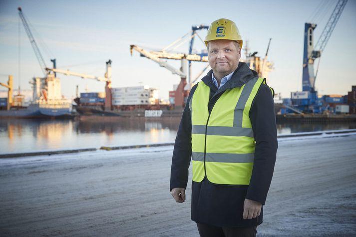 Vilhelm Már Þorsteinsson, forstjóri Eimskips.