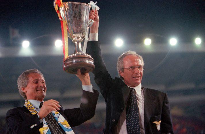 Sven-Göran Eriksson var siðasti stjórinn sem vann Evrópukeppni bikarhafa þegar hann stýrði Lazio til sigurs í keppninni vorið 1999.