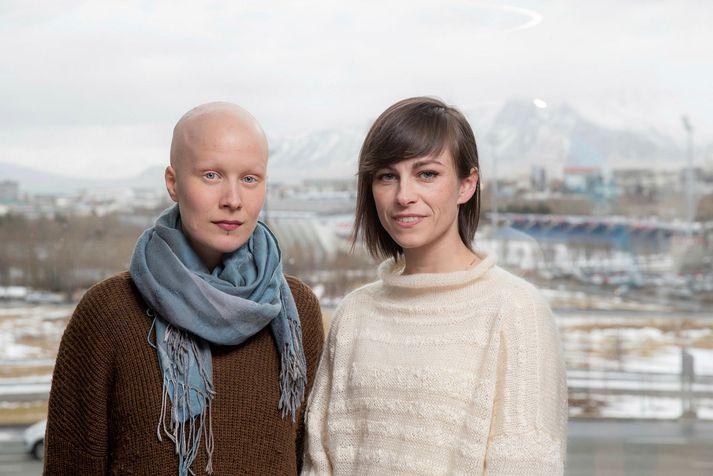 Jórunn Edda Helgadóttir og Ragnheiður Freyja Kristínardóttir.