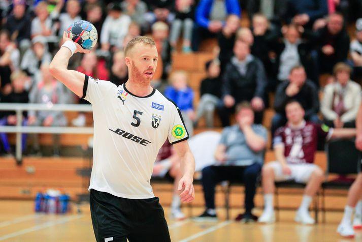 Ásbjörn Friðriksson, markahæsti leikmaður FH á tímabilinu.