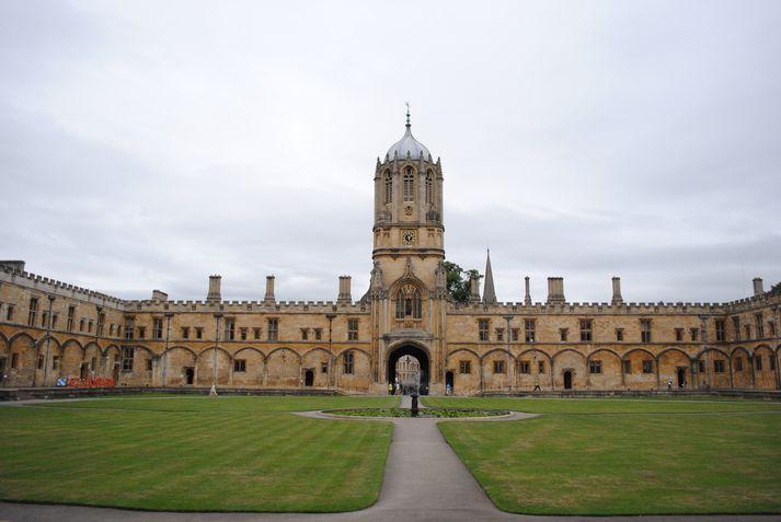 Oxford-háskóli.