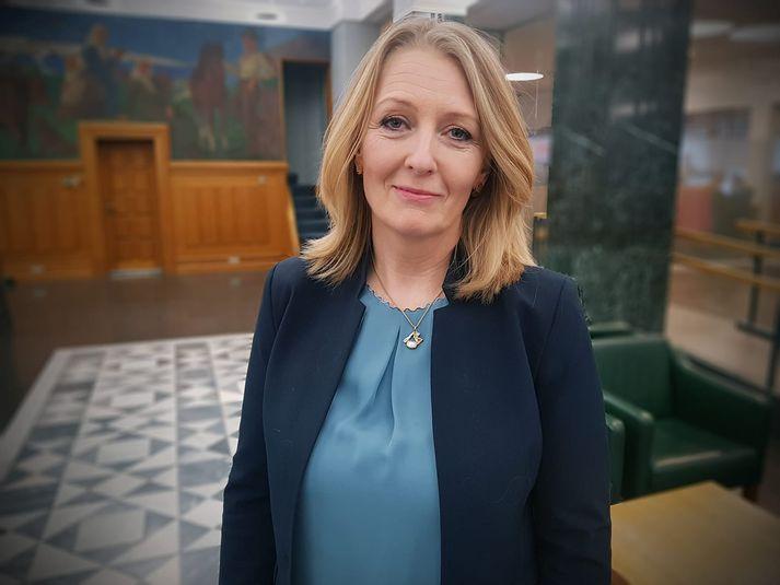 Lilja Björk Einarsdóttir, bankastjóri Landsbankans.