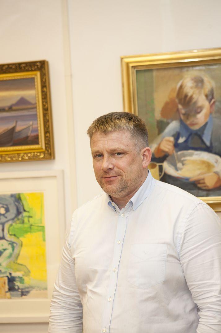 Sverrir Einar Eiríksson, athafnamaður