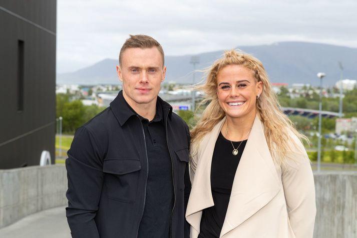Björgvin Karl Guðmundsson og Sara Sigmundsdóttir hafa bæði verið að gera frábæra hluti í The Open undanfarin ár.