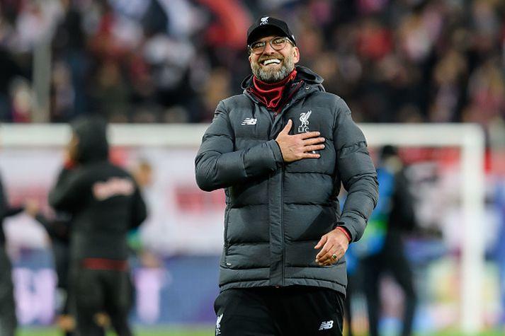 Jurgen Klopp verður áfram hjá Liverpool.