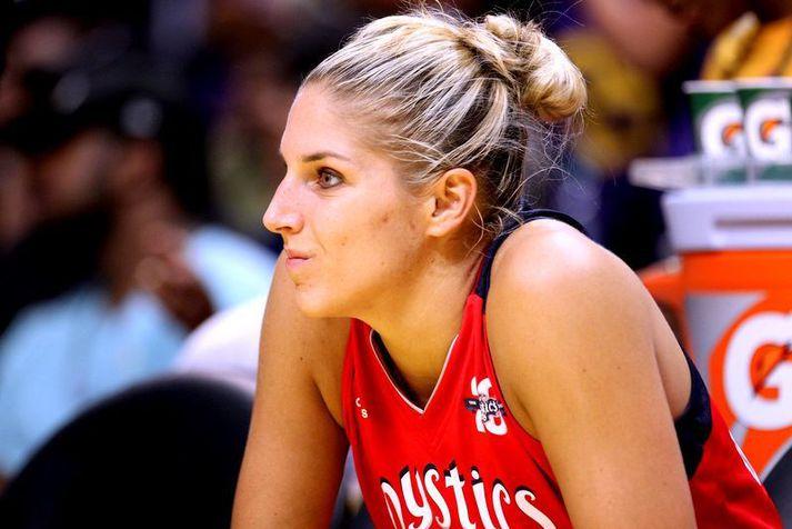 Elena Delle Donne átti frábært tímabil með Washington Mystics liðinu í fyrra þar sem hún var kosin besti leikmaður WNBA-deildarinnar. Hún var með 19,5 stig og 8,3 fráköst í leik auk þess að nýta 97 prósent af 117 vítum sínum.