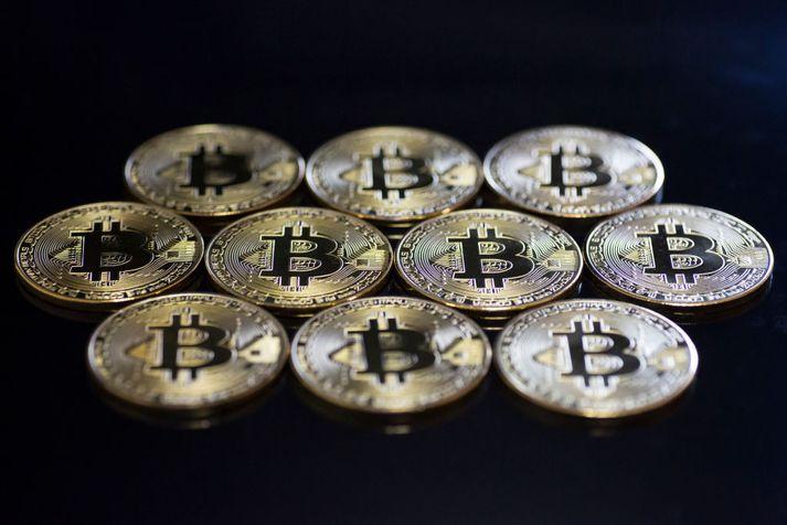 Bitcoin er vinsæl rafmynt.
