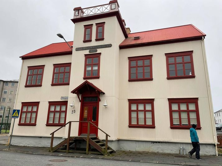 Kennslustöð Mímis að Öldugötu 23 í Reykjavík.