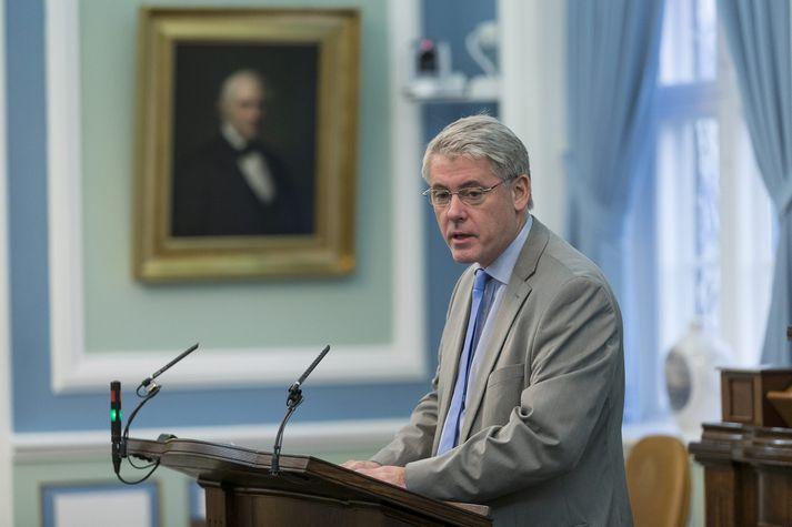 Karl Garðarsson, framkvæmdarstjóri Frjálsrar fjölmiðlunar, sat á þingi fyrir Framsóknarflokkinn kjörtímabilið 2013-2016.