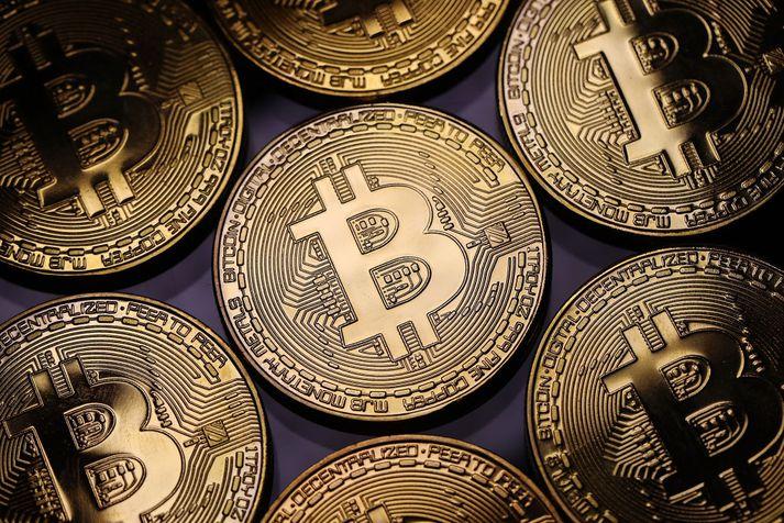 Bitcoin er reyndar ekki til í þessari mynd en gæti litið svona út í efnislegri mynd.