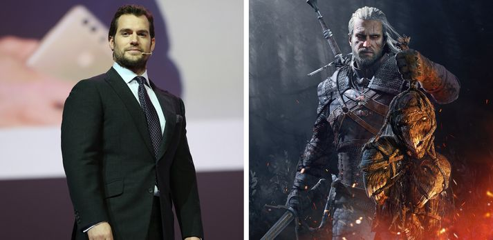 Henry Cavill og Geralt. Eða jafnvel Cavalt?